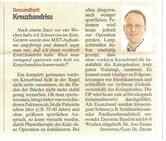 Clinic Dr Decker Dr Med Axel Neumann